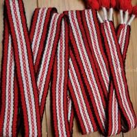 Hřebenový pásek - slovanský/ruský ::::: Slavic/russian woven belt
