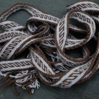 Karetka - Oseberg ::::: Oseberg tablet weaving