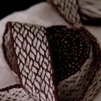 Karetkový pás - vazba / Tablet woven band