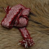Karetkový pás - cik cak / Tablet woven band