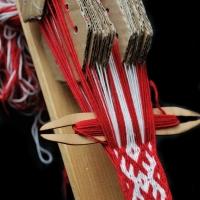 Slovanská karetka :::::: Slavic tablet weaving