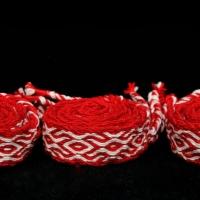 Karetkový pás - slovanský svatební / Tablet woven slavic wedding band