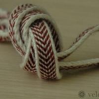 Karetkový pás - jednoduchá čelenka / Tablet woven band