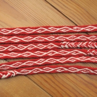 Karetkový pás - čelenka / Tablet woven headband
