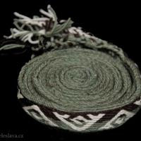 Karetkový pás - Hallstatt / Tablet woven band Hallstatt