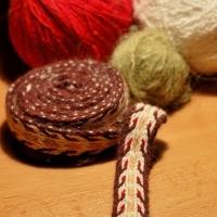 Karetkový pás - první pokusy / Tablet woven band