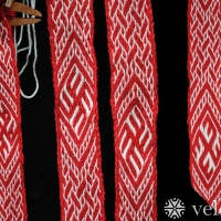 Karetka - pletenec se symboly ::::: Tablet weaving - braid with symbols