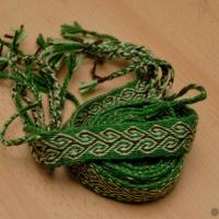 Karetkový pás - strom / Tablet woven band