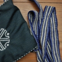 Taška s Perunovým symbolem / Bag with Perun's symbol